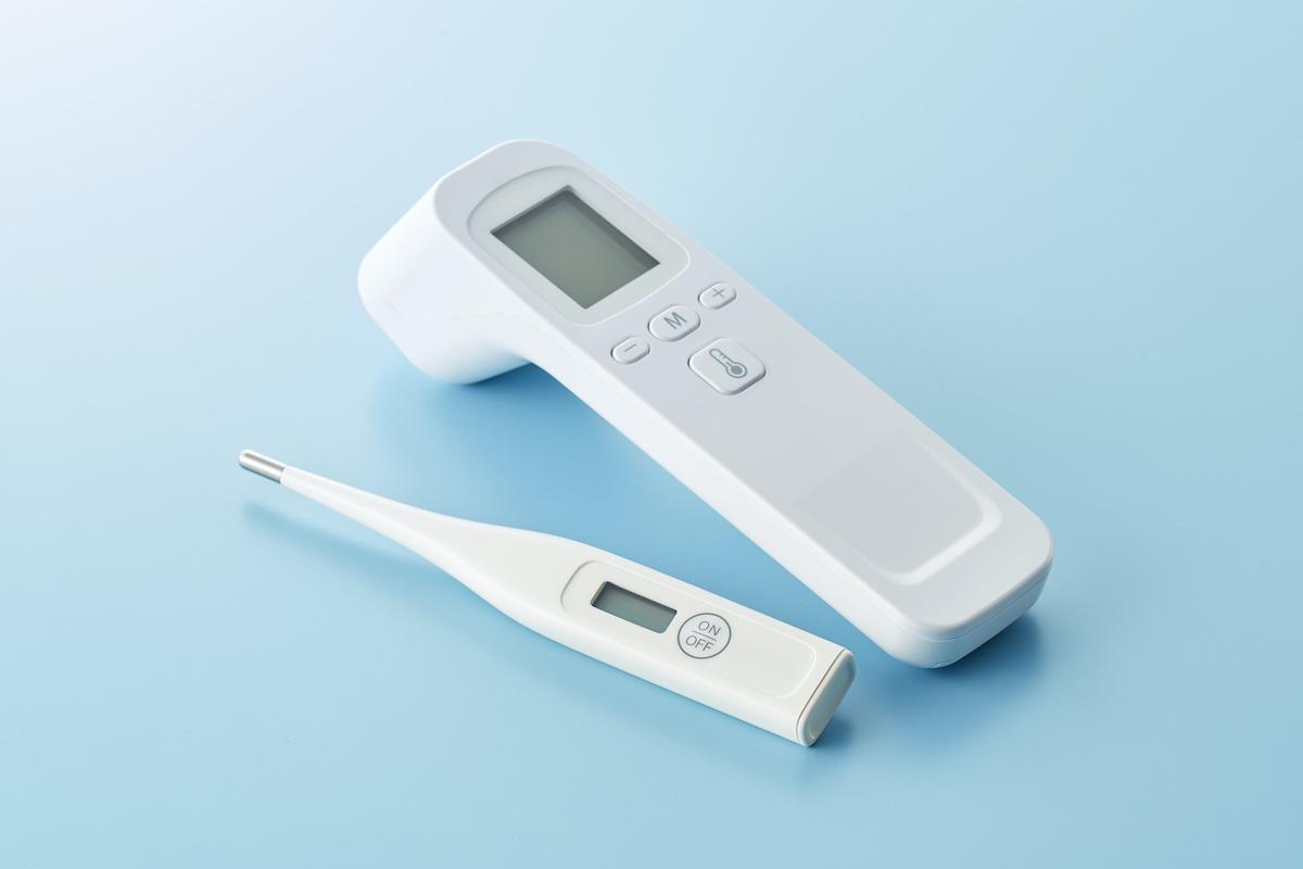 体温計 によって 体温 が 違う